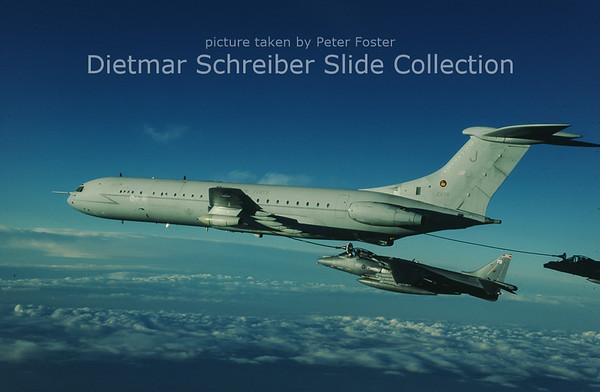 2000-11-29 ZA150 Vickers VC10-1101 (c/n 885) Royal Air Force