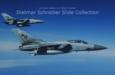 ZE168 Panavia Tornado F3 (c/n 549/AS020/3247) Royal Air Force