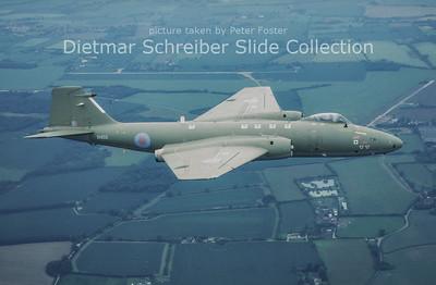 2002-06 XH135 English Electric Canberra PR9 (c/n SH1725) Royal Air Force