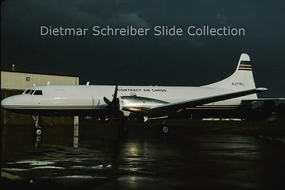 2001-09 N371FL Convair 5800 (c/n 309) Contract Air Cargo
