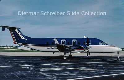 2001-09 N841SK Beech 1900D (c/n UE-84) Skyway