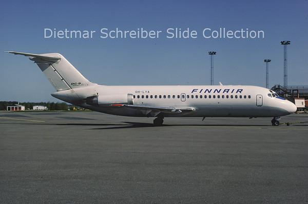 1983-07 OH-LYA Douglas DC9-14 (c/n 45713) Finnair