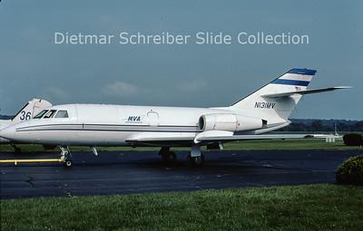 2001-09 N131MV Dassault Falcon 20C (c/n 31) Miami Valley Aviation