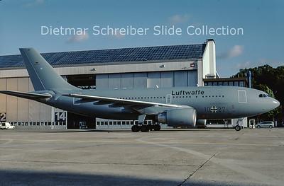 2001-07 10+27 Airbus A310MRTT (c/n 523) German Air Force