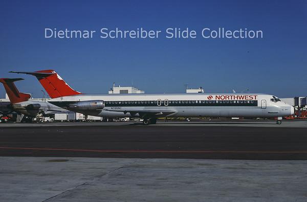 N786NC Douglas DC9-51 (c/n 48148) Northwest Airlines