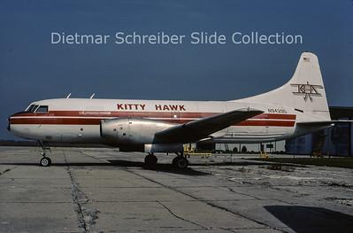 2001-09 N94205 Convair CV600F (c/n 10) Kitty Hawk