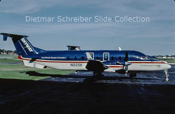 2001-09 N92SK Beech 1900D (c/n UE-92) Skyway