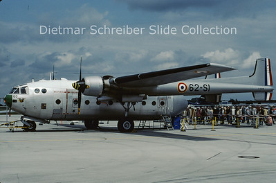 2001-07 F-AZVM Nord 2501F Noratlas (c/n 105)