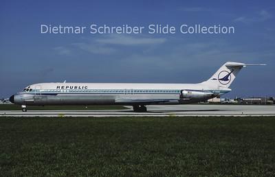 1981-08 N766NC Douglas DC9-51 (c/n 47739) Republic