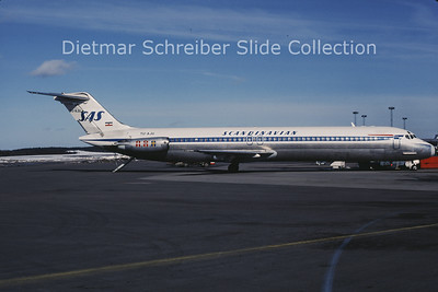 1985-04 YU-AJU Douglas DC9-51 (c/n 47754) Adria Airways