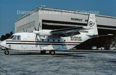 2001-09 N262MA CASA 212-200 (c/n 262) Murray Aviation