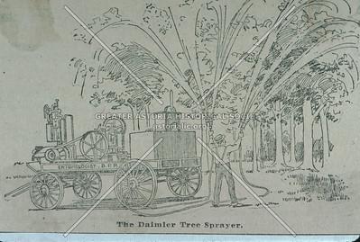 Daimler Tree Sprayer, Astoria.
