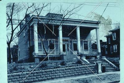 Baylies Mansion, 26-07 12th St.,  Astoria, Circa 1830.