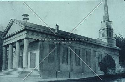 Original St. George Church, Astoria.