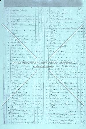 1708 Hallet Inventory, Astoria.
