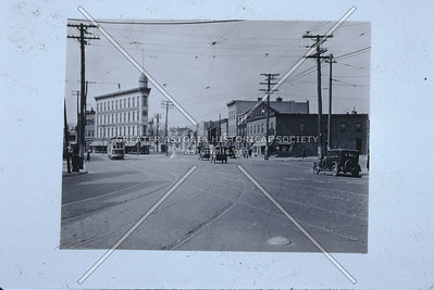 Astoria Square, Astoria Blvd., Newtown Ave., 21st St,  Astoria. 1920.