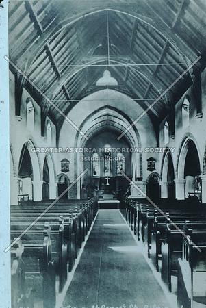 St. George Church Interior, Astoria.