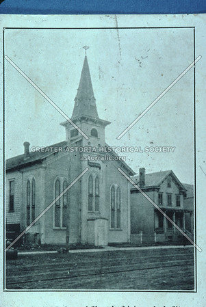 Second German Reformed Church, 31 St near 30th-31st Ave., Astoria.