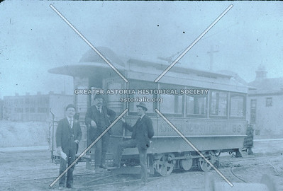 Trolley, Steinway St at 20th Ave., 1893, Astoria.