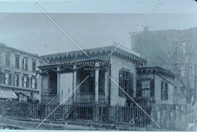Dr. B. Frank Sill, Dentist, 116 Main St.,  Astoria, 1901.