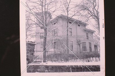 Burr Mansion, 8-10 27th Ave., East of 8th Ave., Astoria
