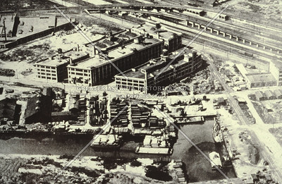 Aerial view, 27th Ave and 47th St., LIC.