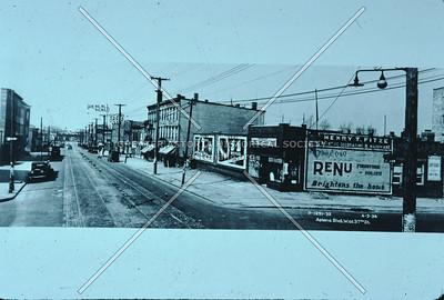 Astoria Blvd west from 37th St, Astoria.