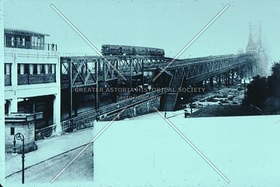 Queensboro Bridge from Queens Plaza.