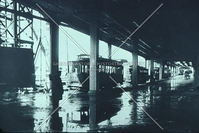 Queensboro Bridge trolleys, Dutch Kills, LIC.