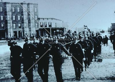 Firemen's parade, Jackson Ave., Hunters Point