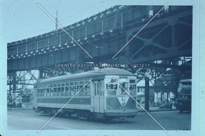 Streetcar, Queensboro Plaza elavated