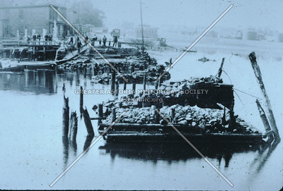 The remains of Penny Bridge, Newtown Creek, LIC.