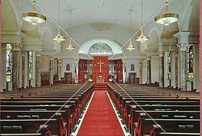 Presbyterian Church interior