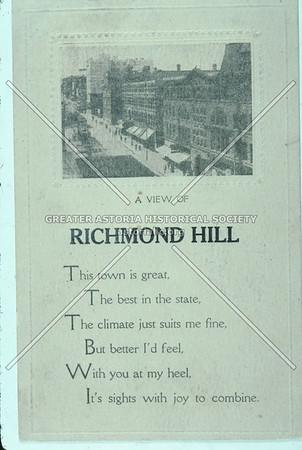 A view of Richmond Hill