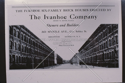 Ivanhoe Homes, Myrtle Ave at Schley St (65 Place) Ridgewood