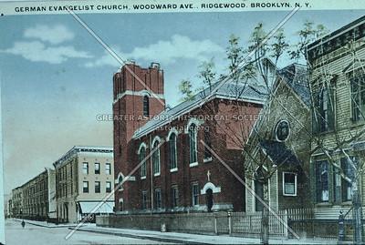 German Evangelist Church, Woodward Ave., Ridgewood