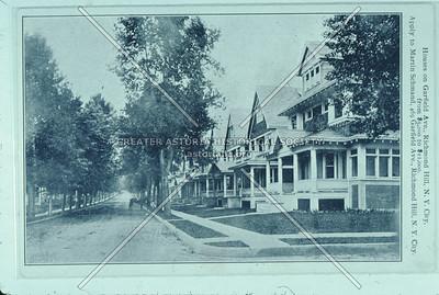 Garfield Ave houses, Richmond Hill