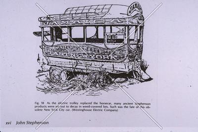 Stagecoach in Manhattan
