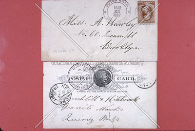 Dutch Kills postmarks, 1887