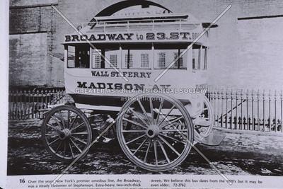 Broadway stagecoach, Manhattan