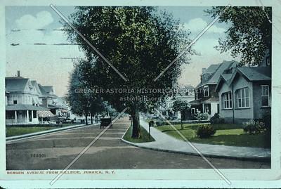 Bergen Ave (166 St) at Hillside Ave., Jamaica