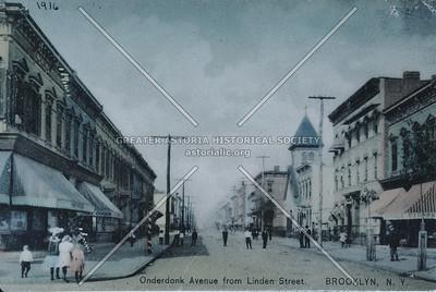 Onderdonk Ave at Linden St., Ridgewood