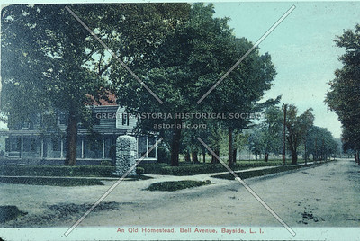 Old homestead, Bell Blvd. and 36th Ave., Bayside