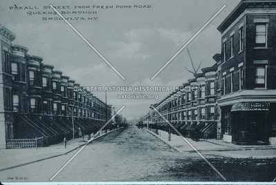 Foxall St (69 Ave) from Fresh Pond Road, Ridgewood