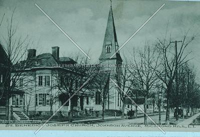 St. Benedict Joseph Church, 118 St.,  Richmond Hill