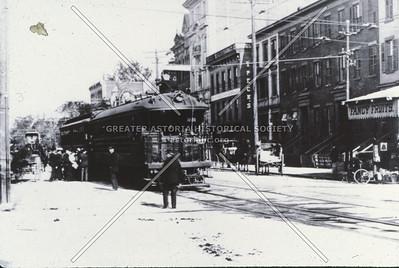 Trolley line, Jamaica Ave