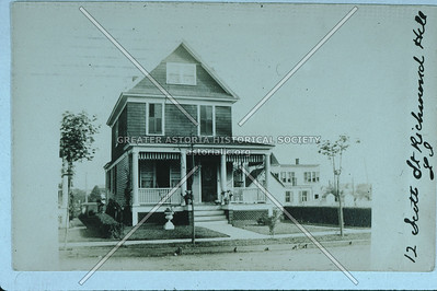 Scott St (93 Ave) houses, Richmond Hill
