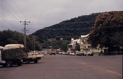 Cooktown main street.