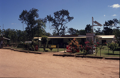 Archer River roadhouse. A quick stop here before heading out along the road to Lockhart River.