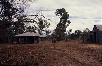 Old Laura Station homestead.